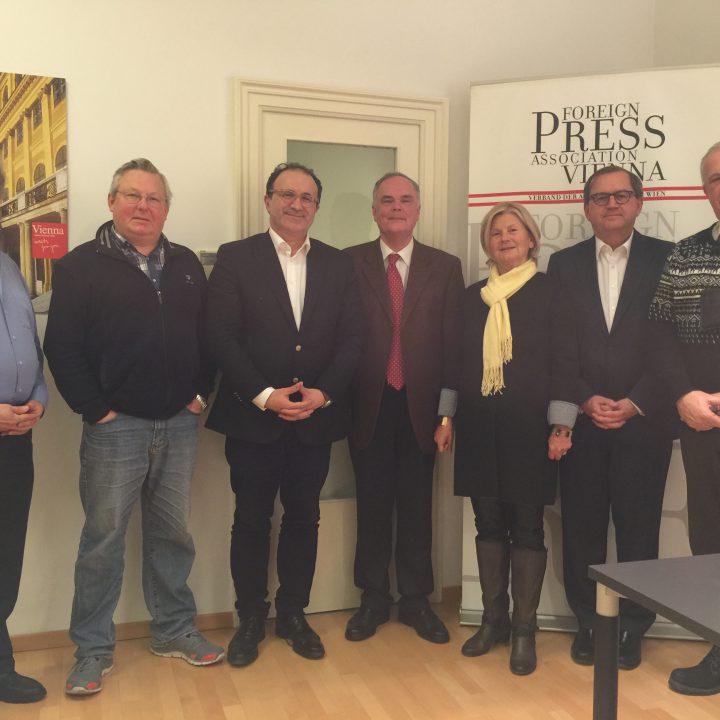 Verband der Auslandspresse in Wien